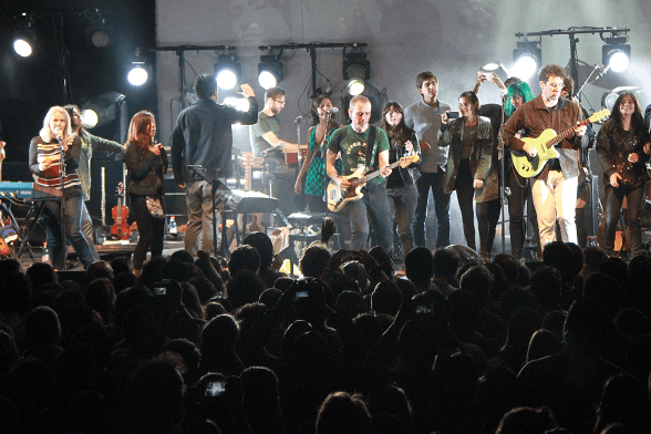 06 Belle And Sebastian @ Teatro Caupolicán 2015