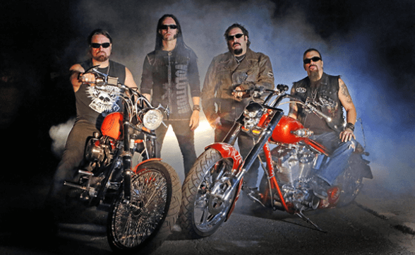 Adrenaline Mob, Noturnall y Republica en Chile