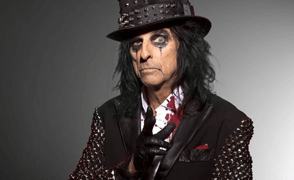 "Streaming del nuevo disco de Alice Cooper: ""Paranormal"""