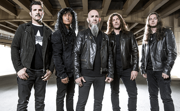 "Anthrax tocó ""Monster At The End"" en el show de Seth Meyers"
