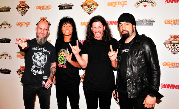 Anthrax y Testament en Chile
