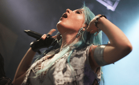 ARCH ENEMY CHILE 2015 FRONTAL