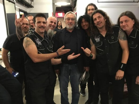 Anthrax on Seth Meyers