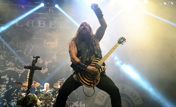 BLACK LABEL SOCIETY CHILE 2014 FRONTAL