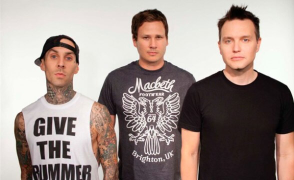 "Blink-182 hizo cover de Misfits: ""Hybrid Moments"""