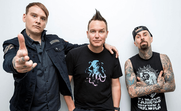 "Blink-182 tocó ""She's Out Of Her Mind"" en Jimmy Kimmel Live!"