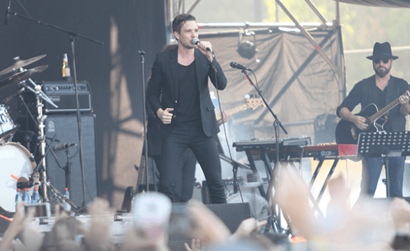 Lollapalooza Chile 2016: Brandon Flowers