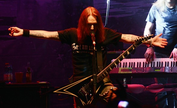CHILDREN OF BODOM CHILE 2014 FRONTAL