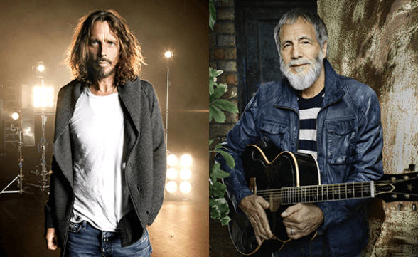 "Chris Cornell se une a Yusuf Islam para interpretar en vivo ""Wild World"""