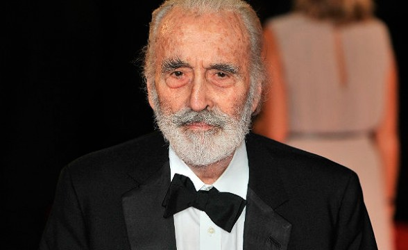 Murió el actor Christopher Lee