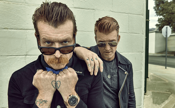 "Eagles Of Death Metal tocó ""Complexity"" y ""Silverlake"" en Jimmy Kimmel Live!"