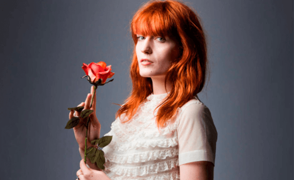 "Florence + The Machine presentó ""What Kind of Man"" en Late Show With Stephen Colbert"
