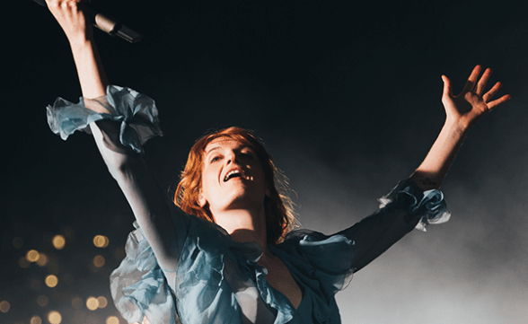 "Nueva canción de Florence + The Machine: ""Wish That You Were Here"""
