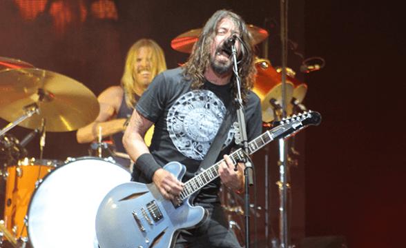 FOO FIGHTERS CHILE 2015 FRONTAL