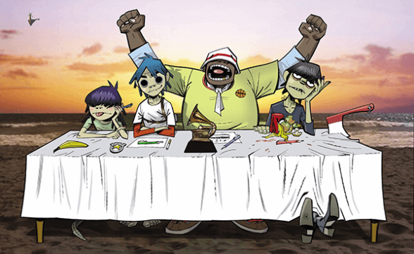 "Gorillaz estrena el primer single de su nuevo disco: ""Hallelujah Money"""