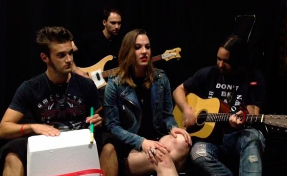 "Nueva canción de Halestorm co-escrita por Rivers Cuomo: ""Sweet Love"""