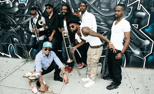Hypnotic Brass Ensemble por primera vez en Chile