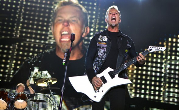 JAMES HETFIELD FRONTAL