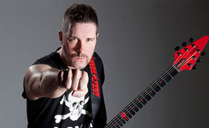 Jeff Waters de Annihilator invita a sus fans a los conciertos en Chile
