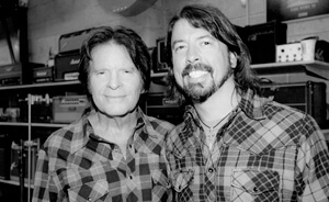 "Escucha a John Fogerty y Foo Fighters reversionar ""Fortunate Son"""