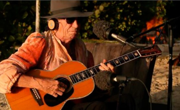 "Trailer del documental ""Keith Richards: Under The Influence"""