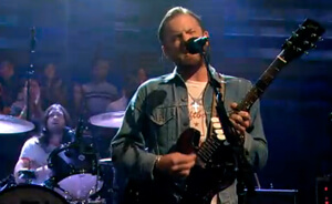 Show completo de Kings Of Leon en Live On Letterman