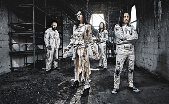"Nueva canción de Lacuna Coil: ""Ghost In The Mist"""