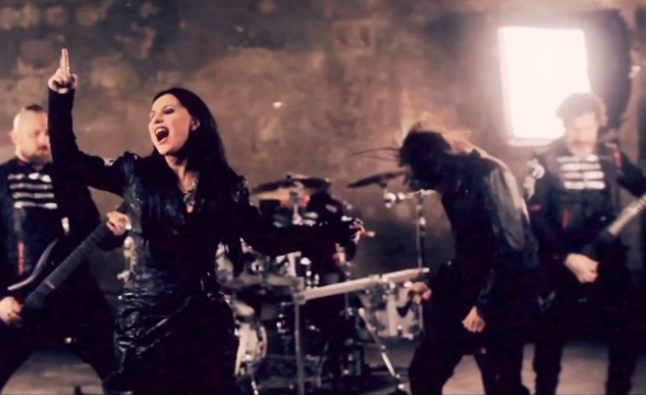 "Nuevo video de Lacuna Coil: ""I Forgive (But I Won't Forget Your Name)"""