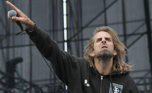 Randy Blythe de Lamb Of God envió saludo al público chileno
