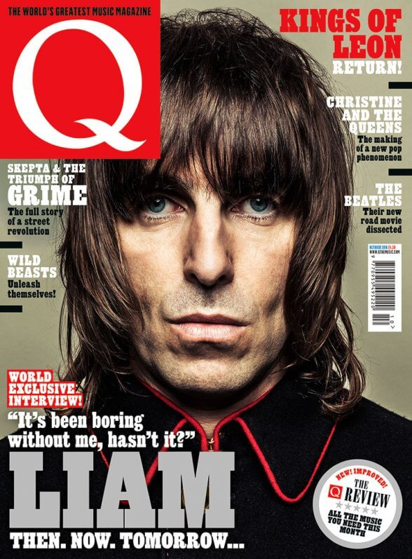 Liam Gallagher Q Magazine