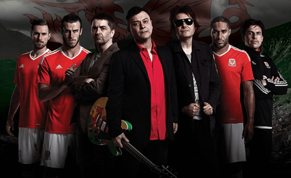 "Nuevo video de Manic Street Preachers: ""Together Stronger (C'mon Wales)"""