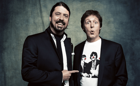 "Paul McCartney tocará la batería en un tema del nuevo disco de Foo Fighters: ""Concrete And Gold"""