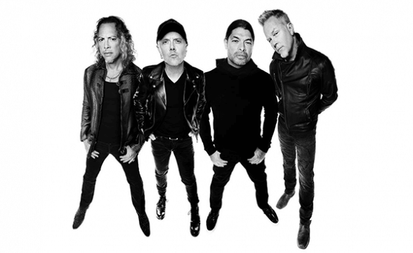 "Registros de ""The Call Of Ktulu"" y ""Welcome Home (Sanitarium)"" de Metallica en Copenhague"