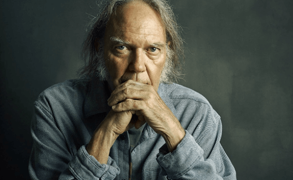 "Neil Young anuncia nuevo disco: ""Peace Trail"""