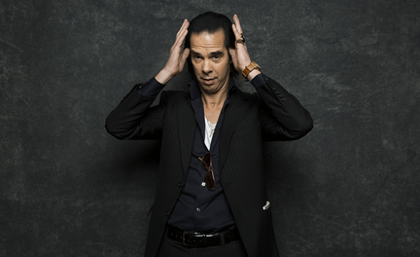 "Nick Cave & The Bad Seeds tocó ""Rings Of Saturn"" en Colbert"