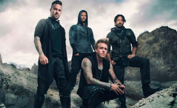 Registro del set acústico de Papa Roach en YouTube Space
