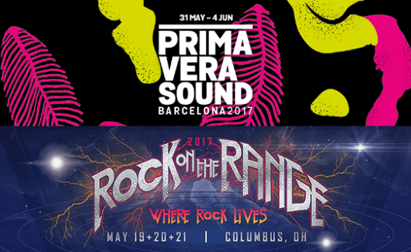 Primavera Sound y Rock On The Range anuncian carteles de sus ediciones 2017