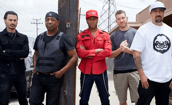 "Prophets Of Rage tocó ""Killing In The Name"" y su tema homónimo en Jimmy Kimmel Live!"