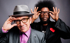 """Streaming del disco de Elvis Costello con The Roots, """"Wise Up Ghost"""""""