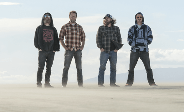"Streaming del nuevo disco de Red Fang: ""Only Ghosts"""