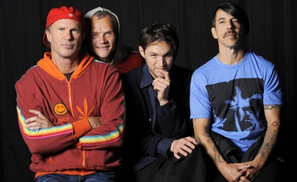 RED HOT CHILI PEPPERS FRONTAL