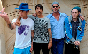 Red Hot Chili Peppers confirma shows en Brasil y se acerca a Chile
