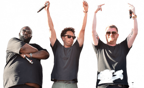 Run The Jewels tocó junto a Zack De La Rocha