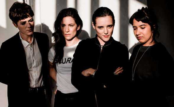 "Savages mostró ""Evil"" y ""The Answer"" en vivo en Le Grand Journal"