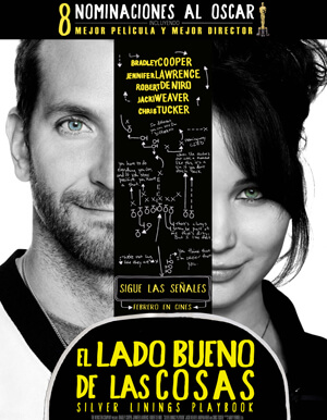SILVER LININGS PLAYBOOK AFICHE