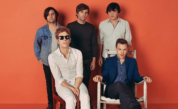 "Spoon tocó ""Can I Sit Next To You"" en Jimmy Kimmel Live!"
