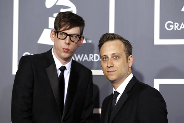 Blues Rock duo The Black Keys arrives at the 53rd annual Grammy Awards in Los Angeles