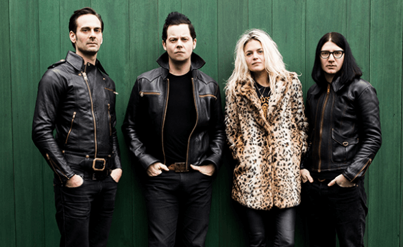 "Registro en vivo de The Dead Weather: ""I Feel Love (Every Million Miles)"""