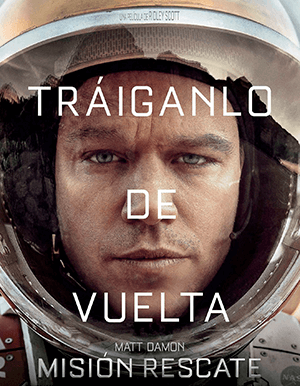 THE MARTIAN AFICHE
