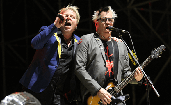Galería fotográfica de The Offspring @ RockOut Fest, Estadio Santa Laura (03/09/2016)